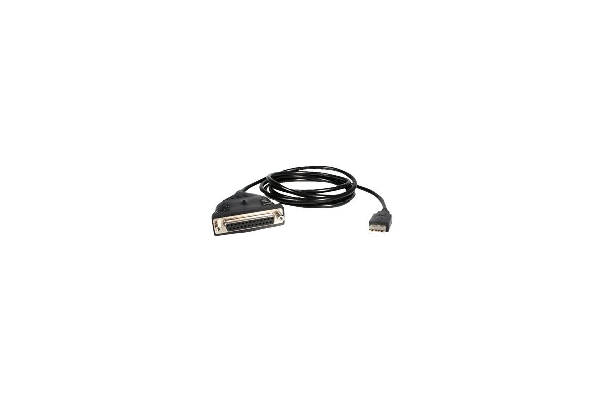 StarTech.com USB to DB25 Parallel Printer Adapter Cable