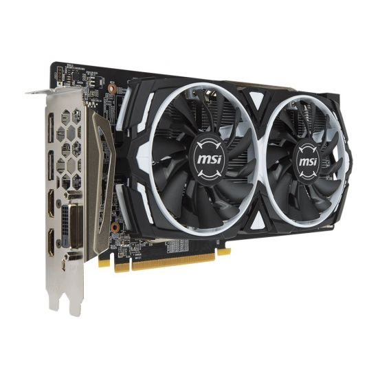 MSI RX 580 ARMOR 8G &#45 AMD Radeon RX580 &#45 8GB GDDR5 - PCI Express 3.0 x16