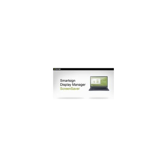 Smartsign Display Manager ScreenSaver - licens