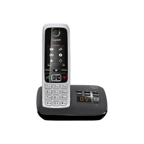 Gigaset C430A - trådløs telefon - besvarelsessystem med opkalds-ID