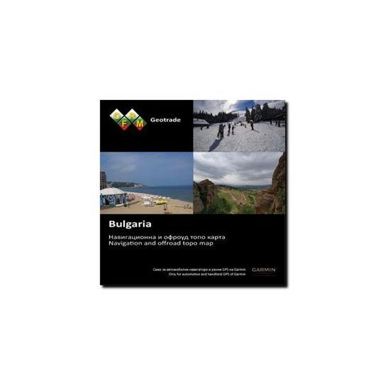 Garmin TOPO OFRM Geotrade Bulgaria - kort