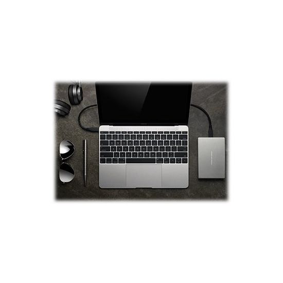 LaCie Porsche Design Mobile Drive &#45 4TB - USB 3.1 Gen 1 - 24 pin USB-C
