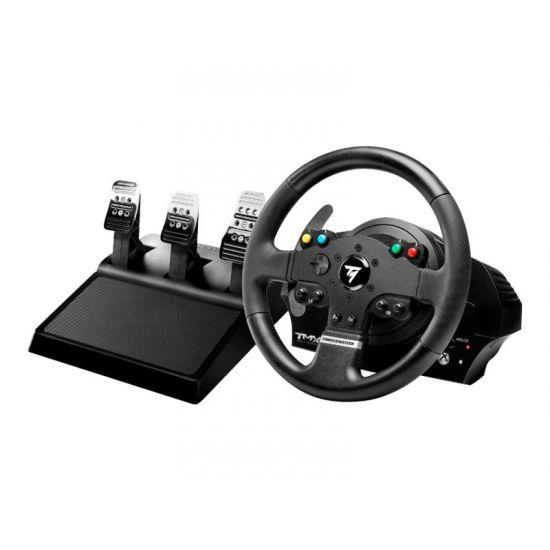 ThrustMaster TMX PRO - rat og pedalsæt - kabling