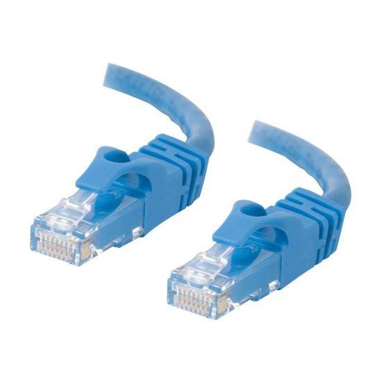 C2G Cat6 Booted Unshielded (UTP) Crossover Patch Cable - krydskabel - 7 m - blå