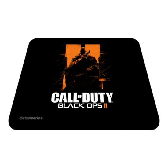 SteelSeries QcK Call of Duty Black Ops II Orange Soldier Edition - musemåtte