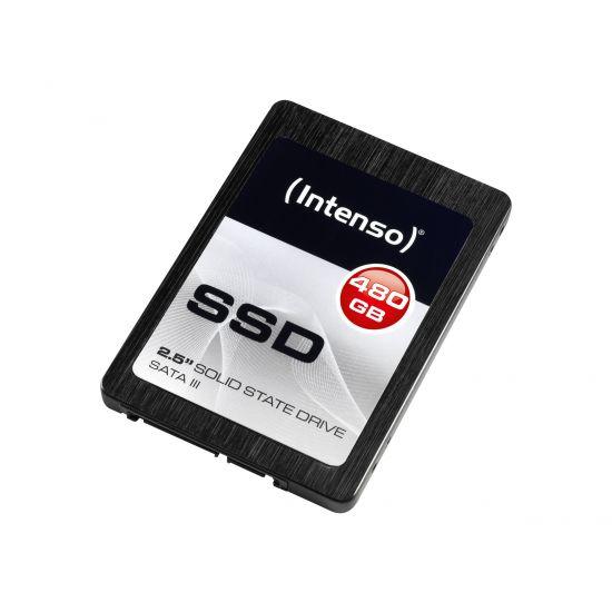 Intenso &#45 480GB - SATA 6 Gb/s - 7 pin Serial ATA