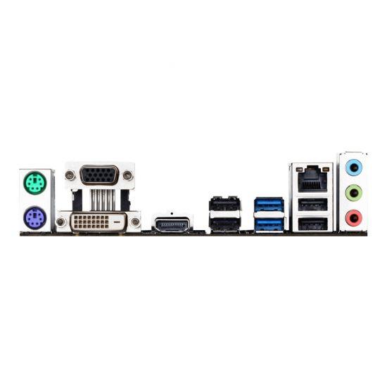 Gigabyte GA-H110M-S2H - 1.0 - bundkort - micro-ATX - LGA1151 Socket - H110