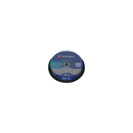 Verbatim - BD-R x 10 - 25 GB - lagringsmedie