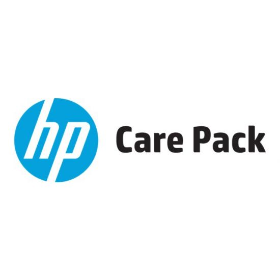 Electronic HP Care Pack Next Business Day Hardware Support with Defective Media Retention - support opgradering - 4 år - on-site
