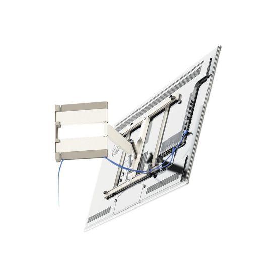 Vogel's UltraThin THIN 345 ALPINE WHITE - vægmontering (Vip og Drej)