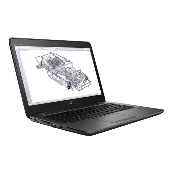 "HP ZBook 14u G4 Mobile Workstation - 14"" - Core i7 7500U - 16 GB RAM - 256 GB SSD - Dansk"