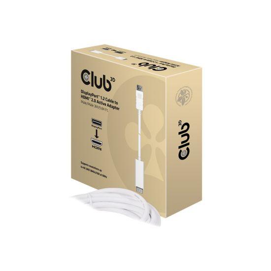 Club 3D CAC-1073 - videoadapter - DisplayPort / HDMI - 3 m