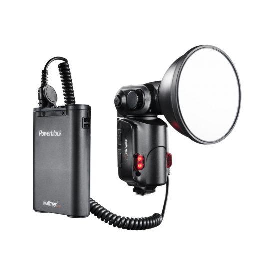 Walimex Pro Flash Light Shooter 180 - blitz hot-shoe-type med klemme