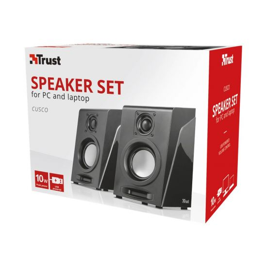 Trust Cusco 2.0 Speaker Set - højttalere - til PC