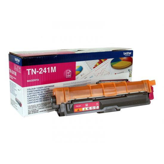 Brother TN241M 1.400 sider - Printerpatroner Magenta