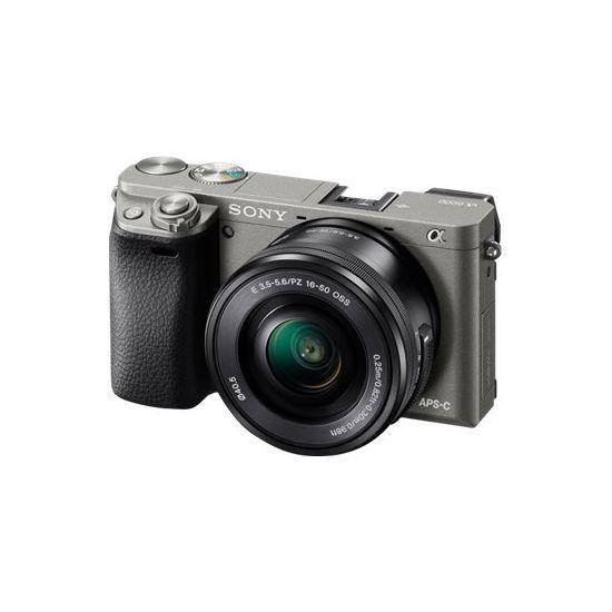 Sony ?6000 ILCE-6000L - digitalkamera 16-50 mm Power Zoom-objektiv