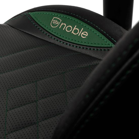 noblechairs EPIC Series Faux Leather black/green