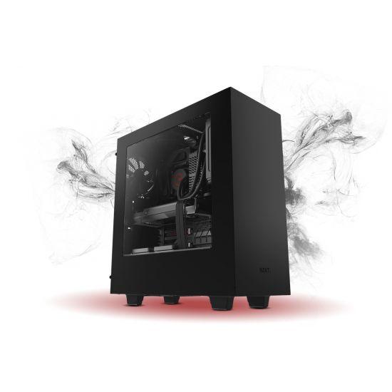 Føniks Chimera II Færdigsamlet Gamer Computer - Intel i5 8500 - Hyper 212 - 8GB DDR4 - Nvidia GTX 1060 6GB - 240GB SSD + 2TB HDD - Windows 10 - WiFi