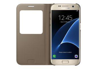 Samsung S View Cover EF-CG930 flipomslag til mobiltelefon