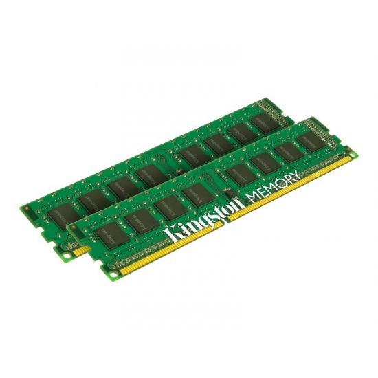 Kingston ValueRAM &#45 8GB: 2x4GB &#45 DDR3 &#45 1333MHz &#45 DIMM 240-pin - CL9