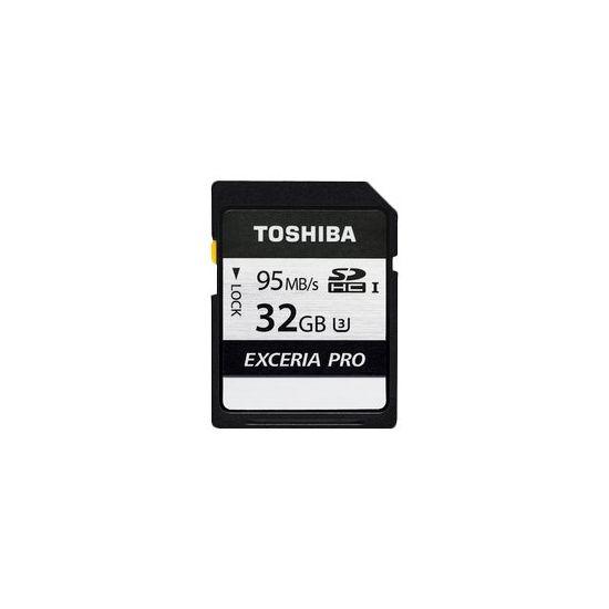 Toshiba EXCERIA PRO N401 - flashhukommelseskort - 32 GB - SDHC UHS-I