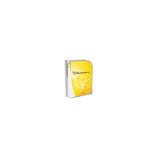 Microsoft Office OneNote 2007 - bokspakke - 1 PC