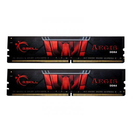 G.Skill AEGIS &#45 8GB: 2x4GB &#45 DDR4 &#45 2400MHz &#45 DIMM 288-PIN - CL17