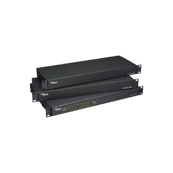 Fujitsu KVM S2-0411 - KVM switch - 4 porte - monterbar på stativ