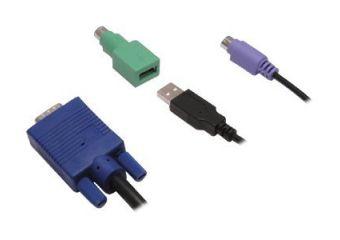 Avocent tastatur / video / mus / USB kabel sæt