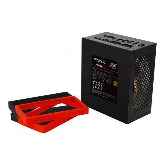 Antec EDGE EDG650 &#45 strømforsyning &#45 650W