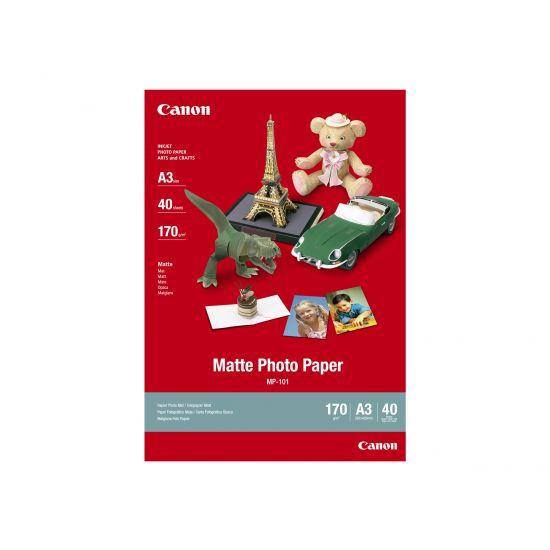 Canon MP-101 - fotopapir - 40 ark - A3 - 170 g/m²