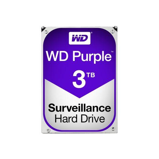 WD Purple Surveillance Hard Drive WD30PURZ &#45 3TB - SATA 6 Gb/s