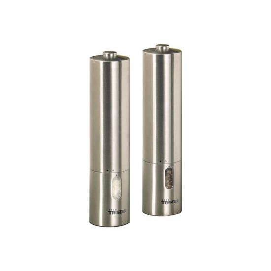 Tristar PM-4005 - peber- og saltkværn - rustfrit stål