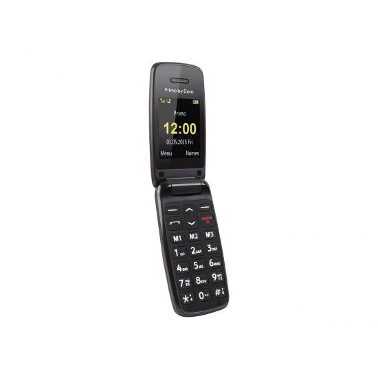 Doro Primo 401 - rød - GSM - mobiltelefon
