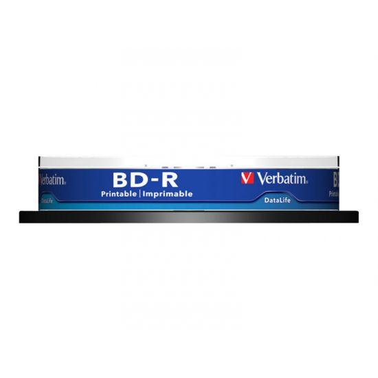 Verbatim DataLife - BD-R x 10 - 25 GB - lagringsmedie