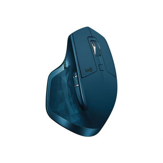 Logitech MX Master 2S , midnatsgrønblå - mus - bluetooth