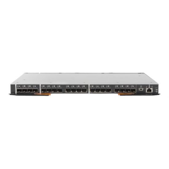 Lenovo Flex System FC5022 24-port 16Gb SAN Scalable Switch - switch - 48 porte - Administreret - plug-in modul