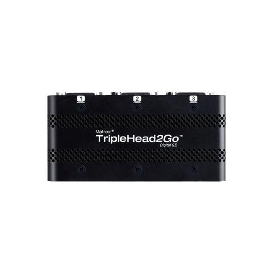 Matrox Graphics eXpansion Module TripleHead2Go - Digital SE - video transformer