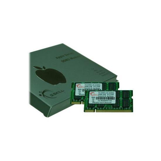 G.Skill SQ Series - DDR2 - 4 GB: 2 x 2 GB - SO DIMM 200-PIN