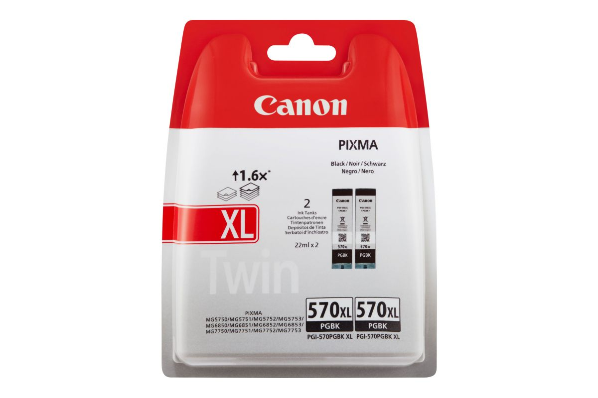 Canon PGI-570PGBK XL Twin Pack