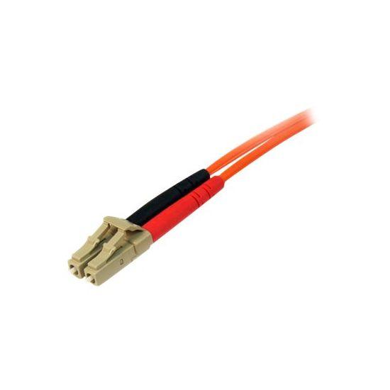 StarTech.com 10m Fiber Optic Cable - Multimode Duplex 50/125 - LSZH - LC/LC - patchkabel - 10 m - orange