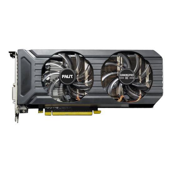 Palit GeForce GTX 1060 GamingPro OC &#45 NVIDIA GTX1060 &#45 6GB GDDR5 - PCI Express 3.0 x16