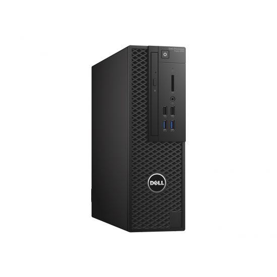 Dell Precision Tower 3420 - SFF - Xeon E3-1245V5 3.5 GHz - 16 GB - 256 GB