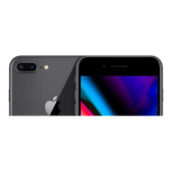 Apple iPhone 8 Plus - space grey - 4G LTE, LTE Advanced - 256 GB - GSM - smartphone