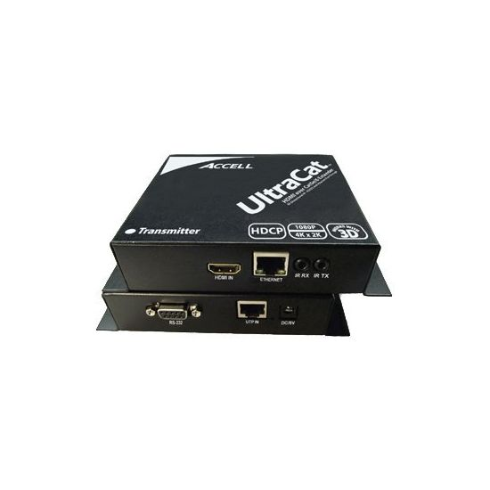 Accell UltraCat HD HDMI-Cat5e High Speed Extender Transmitter and Receiver Units - video/audio/infrarød/seriel forlænger - RS-232C, HDMI