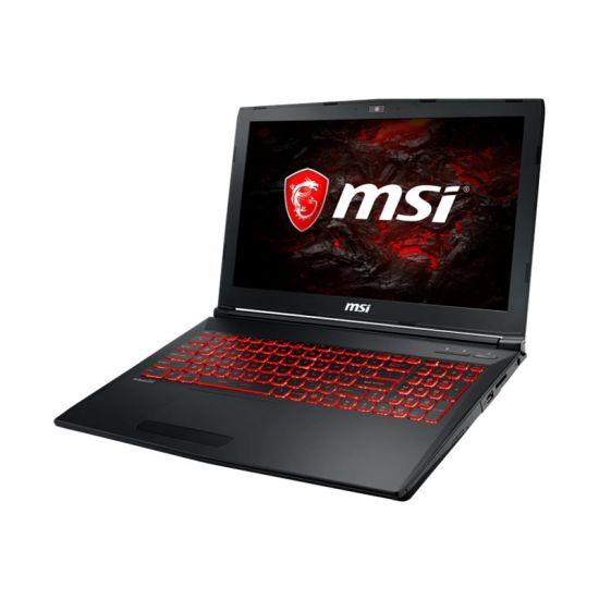 MSI GL62VR 7RFX 899NE - Intel Core i7 (7. Gen) 7700HQ - 16 GB DDR4 - 128 GB SSD - (M.2) + 1 TB HDD SATA - NVIDIA GeForce GTX 1060 3GB GDDR5 - 15.6""