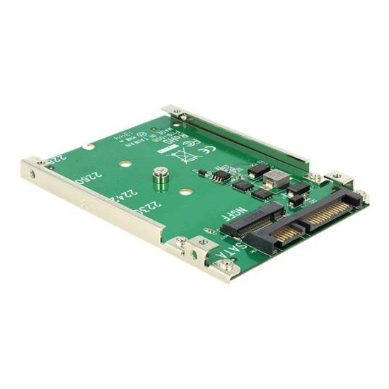 DeLOCK Converter 22 pin > M.2 NGFF - lagringskontrol - SATA 6Gb/s - SATA 6Gb/s