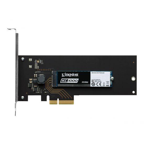 Kingston SKC1000 &#45 480GB - PCI Express 3.0 x4 (NVMe) - M.2 Card