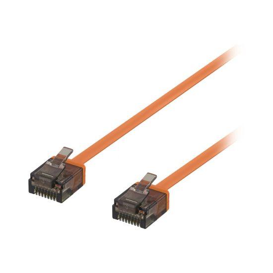 DELTACO patchkabel - 3 m - orange