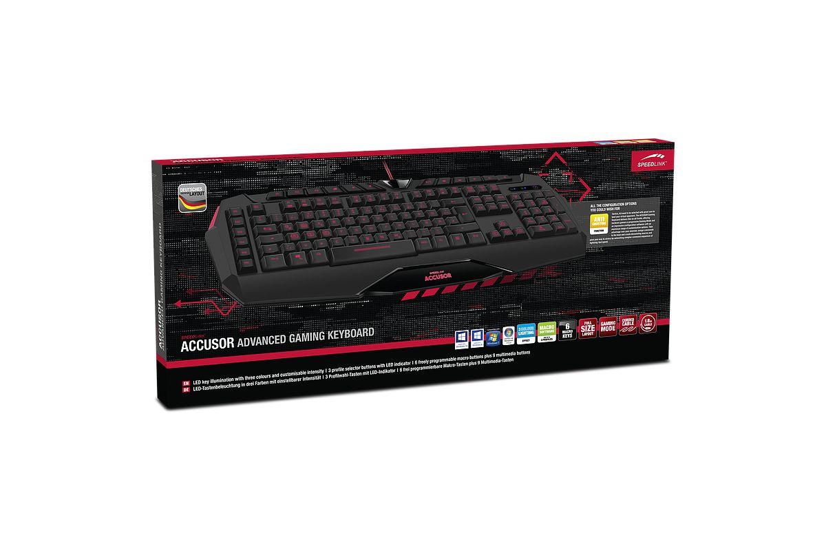 SPEEDLINK ACCUSOR Advanced Gaming Keyboard